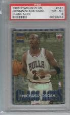 MICHAEL JORDAN JERRY STACKHOUSE CLASS ACTS PSA 8 1996/97 STADIUM CLUB