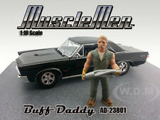 MUSCLEMEN BUFF DADDY FIGURE FOR 1:18 SCALE DIECAST MODELS AMERICAN DIORAMA 23801
