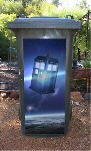 Dr Who wheelie wrap sticker