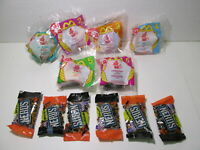 McDonald's Set Of 6 Haunted Halloween Candy Dispenser Happy Meal Toy 1998 t4430