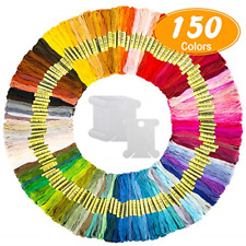 Embroidery Thread Friendship Bracelet Strin 150 Skeins Embroidery Floss Craft