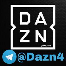 DAZN SOLO SU TELEGRAM @DAZN4