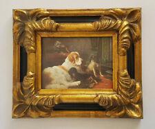 Stilarts Bild Porzellanbild Ludwig II Alt Bilderrahmen Gemälde Rahmen Kunst