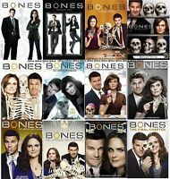 Bones Season 1 2 3 4 5 6 7 8 9 10 11 or 12 Choice of Individual DVD Sets New