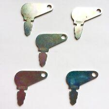 (5)  Case John Deere Massey Ferguson Baraga Terramite Ignition Keys # 83353