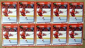 Steve Yzerman 1991 Score #190 Detroit Red Wings 10ct Card Lot