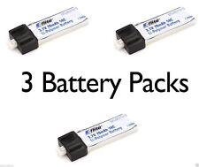 Latest E-Flite 3 pcs Blade Scout CX 70mAh 1S 3.7V 14C LiPo Battery # EFLB0701S