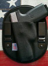 MEN'S WOMEN'S BLACK CONCEALED GUN HOLSTER IWB UNIVERSAL FIT INSIDE WAISTBAND