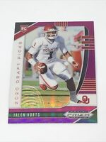 Jalen Hurts 2020 Prizm Draft Picks Purple #129 Rookie Philadelphia Eagles