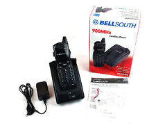Bellsouth Mh9004Bk 900Mhz Cordless Phone w/ 40 Channel Autoscan, Black ~ Tested