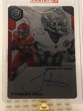 2019 Panini Elements TYREEK HILL On Card Steel Signatures Auto **41/75** Chiefs