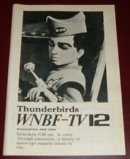 1969 TV AD~THUNDERBIRDS~SPACE AGE PUPPETS~WNBF BINGHAMTON,NEW YORK~animation