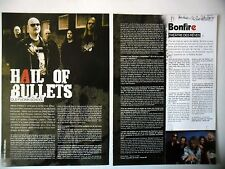 COUPURE DE PRESSE-CLIPPING :  HAIL OF BULLETS [2pages] 2008 Martin Van Drunen