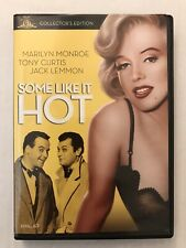 Some Like It Hot dvd comedy classic Mgm Marilyn Monroe Tony Curtis Jack Lemmon