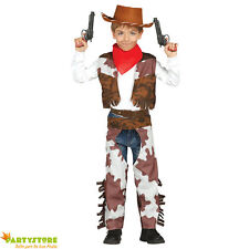 costume cowboy bambino 3-4 anni travestimento carnevale texas ranger
