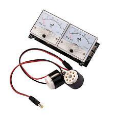 Daul Bias Current Probes Tester Meter for EL34 KT88 6L6 6V6 Vacuum Tube valve UK