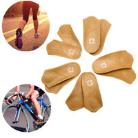 Arch Support Orthopedic Insoles Leather Insert Shoe Pad 3/4 Footbed Feet Care Be