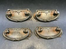 Vintage Antique Drawer Handles x 4