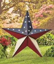 Metal Star Outdoor Decor 2 Feet Wide American Pride House Decor American Art