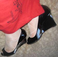 JIMMY CHOO BAXEN black patent leather wedge heel It 43 / UK 10 / US 12 / EU 44