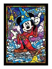 Tenyo Mickey Mouse Stained Glass Gyutto Size Series Jigsaw Puzzle 266 Piece