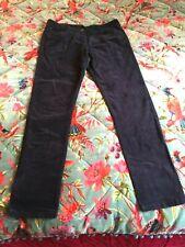 "Marks and Spencer navy blue cord jeans 12 medium 30"" inside leg. New"