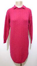 MARELLA Abito Vestito Donna Lana Woman Wool Sweater Dress Sz.M - 44