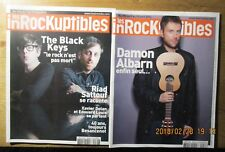 "2 ""Les Inrockuptibles"" / DAMON ALBARN, The BLACK KEYS, Riad SATTOUF, BESANCENOT"