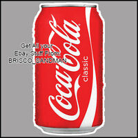 Fridge Fun Refrigerator Magnet COCA COLA CAN - VERSION A Specialty Die Cut