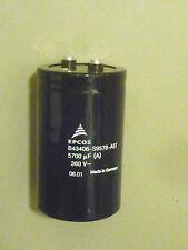 EPCOS Kondensator B43406-S9578-A51 Capacitor Alu 5700uF 360V Schraub ELKO µF