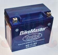 New Bike Master TruGel Battery MG12-BS Tru Gel 2Yr Wrnty YTX12-BS 78-0508