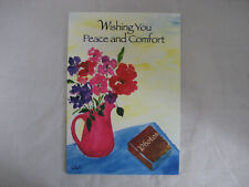 "Blue Mountain Arts Greeting Card ""Wishing You Peace And Comfort"" (Bm153)"