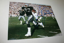 OAKLAND/LA RAIDERS GREG TOWNSEND #93 SIGNED 8X10 PHOTO SB XVIII CHAMPS