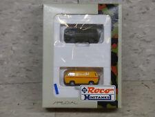 NEW Roco Minitanks / Herpa  Special German VW Type 2 Van Set Lot #929K