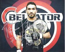 Patricio Pitbull Freire Signed- Autographed Signed Bellator MMA 8x10 Photo UFC
