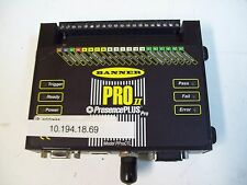 BANNER PPROCTL PRESENCE PLUS PROII CONTROLLER - USED - FREE SHIPPING