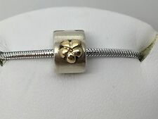 PANDORA ALE STERLING SILVER 925 FLOWER CLIP CHARM RETIRED 790140
