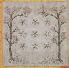Cherry Blossom Mini Quilt - beautiful applique wall quilt PATTERN - Yoko Saito