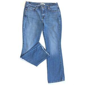 Levi's 515  Boot Cut Jeans Womens Sz 12 M Stretch Medium Wash Flap Back Pockets