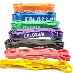 Colossal Heavy Duty Resistance Bands Loop Exercise Sport Fitness Yoga Gym Latex