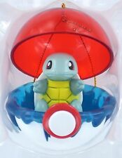 SQUIRTLE Pokemon Christmas Ornament Poke Ball Holiday Anime Basic Fun Retired