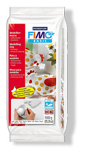 STAEDTLER FIMO AIR BASIC - AIR DRYING MODELLING CLAY (1kg) - WHITE
