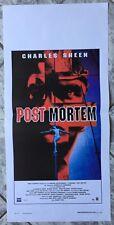 locandina POST MORTEM horror og Italy 2010 playbill