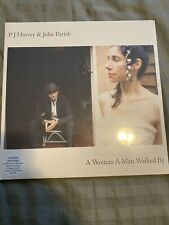 PJ Harvey & John Parish - A Woman A Man Walked By LP fold out poster SEALED NEW