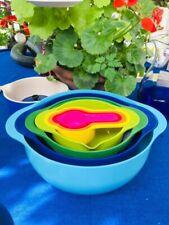 Joseph Joseph Nest 8 mixing bowls / measuring cup set