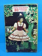 Vintage FANFRELUCHE 88 Pièces Casse-Tête Puzzle No. 5011 par Heritage Inc. 1972