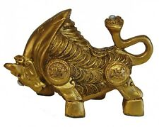 Chinese Golden Chinese Ox Statue