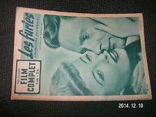 Revue Film Complet n°329 Les Furies B.Stanwyck W.Corey
