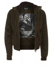 BARBOUR INTERNATIONAL STEVE MCQUEEN Collection Merchant WAXED JACKET - £ 229 Prezzo consigliato!