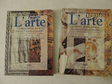 L'arte - 1A+1B - Adorno Mastrangelo - Ed. D'Anna - Correnti artisti società